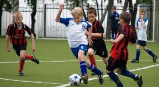 Как сделать футбольное поле